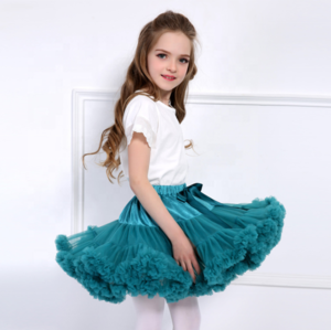 2018 Summer Cheap Custom Fashion Design Cute Girls Tutu Skirt in Pink