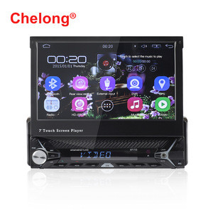7inch Scalable Android car radio support wifi BT mirror link AM car DVD player