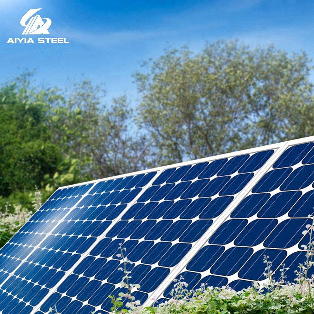 AIYIA prepaied pay as you go 2kw 3kw 4kw 5kw 8kw 10kw solar power system gps tracking tracker racking made in china