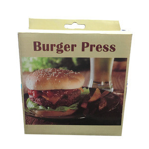 Aluminum alloy ham maker meat hamburger patties maker mold 12cm stuffed hamburger press meat