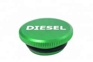 Aluminum Diesel Locking Fuel Cap