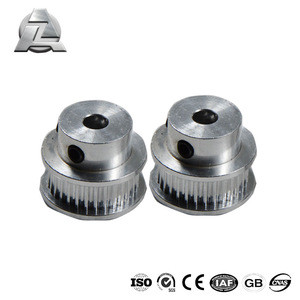 Aluminum silver timing pulley for v-slot linear