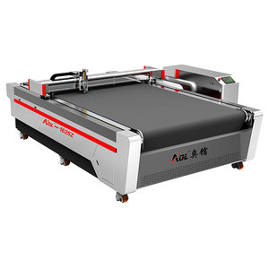 AOL-1625 paper honeycomb cardboard box making cutting machine for packaging
