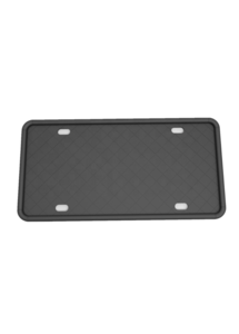 Black US Automobile Plate Frame Car License Cover