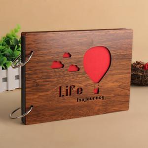 Creative commemorative DIY album gift album 8 wooden Photo Album Organizer