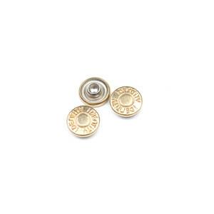 Custom copper plated garment metal rivets leather belt rivets custom logo rivets