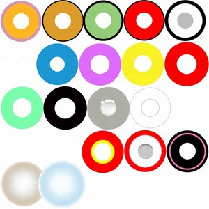 Different Models colored lens japan contact crazy lenses
