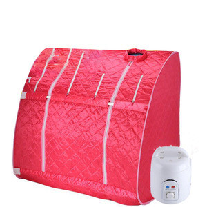 Double use portable steam sauna room for sale