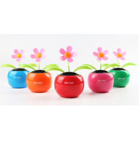 Factory Directly Supplier Hot Sale Solar Dancing Toys Solar Dancing Flower for Promotional Items