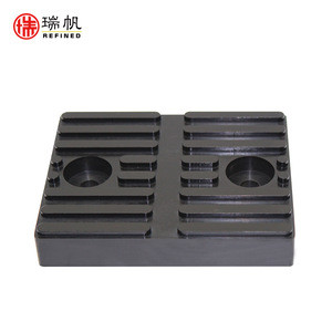 Free sample abrasive resistance auto parts rubber car lift pad