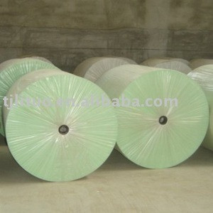 Green Polyester mat for waterproofing membrane