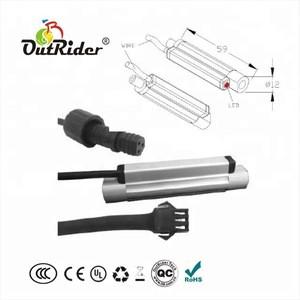 Hidden wire brake system