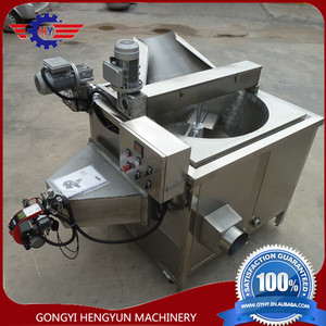 High efficiency Donkey meat frying machine for BBQ