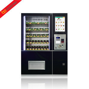 Hot sale supermarket self-service popsicle vending machine with touch screen