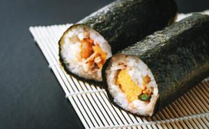 Japan seasoned dried sushi roasted nori sheets seaweed in bag
