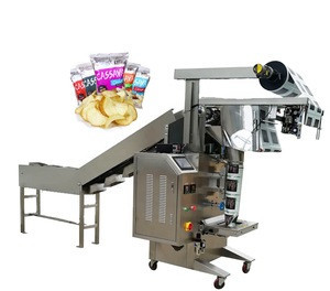 JB-300LD Automatic Popcorn Snacks Filling Sealing Bean Pouch Vertical Chips Packaging Machine Granule Packing Machine