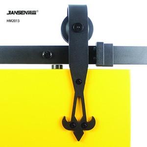 JIANSEN Top Quality Steel Door Heavy Duty wooden Sliding Door Roller