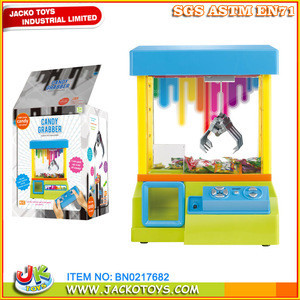 Mini remote control candy grabber machine toys for kids
