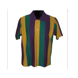 Monogram Adult Rugby Style Mardi Gras Shirts