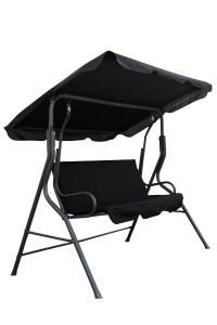 Outdoor Furniture Black Seat Chair Garden Hanging Swing Chair Baby Garden Chair