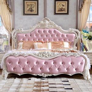 Quality Antique Design Bedroom Furniture Luxury 1 8m Soft Bed Pink Princess Bed Quality Antique Design Bedroom Furniture Luxury 1 8m Soft Bed Pink Princess Bed Suppliers Manufacturers Tradewheel