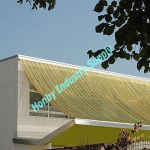 Rustproof Multifunctional Aluminium Chain Curtain Building Material
