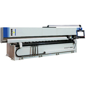 Stainless Steel and plate Vertical Slotting v cutting Machine