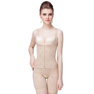Tummy Control Open Bust Waist Trainer Slimming Bodysuit Slimming Fat Full Body Shaper wholesale