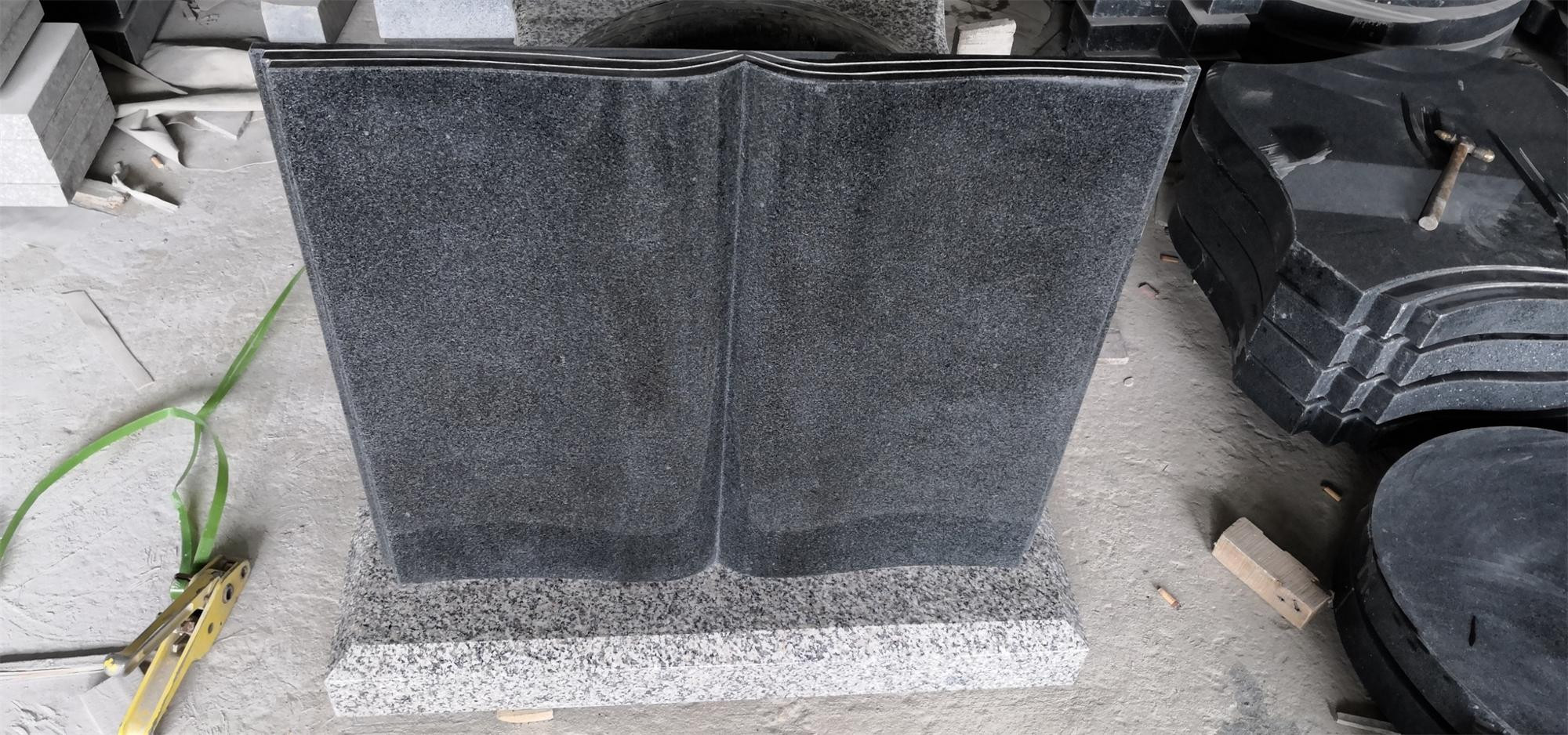 Wholesalers Grey Book Shape Tombstone, Granite Mini Tombstone For Cemetery@