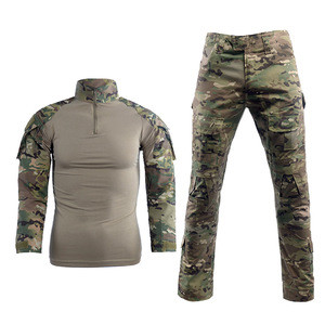 WIS-233 Hot selling Custom design camouflage uniform for men games hunting Outdoor durable breathable military camouflage suits