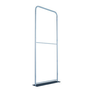 Wison Display Manufactory custom tension fabric aluminum tubes frame stand trade show collapsible backdrop with steel base
