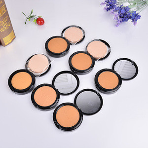 Woman base make up, compact powder with mirror