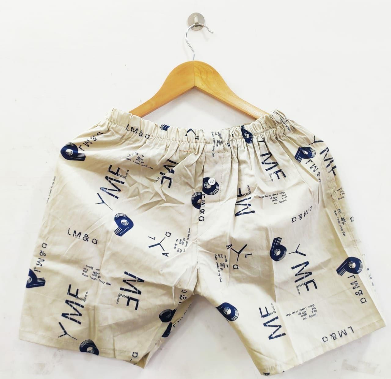 Brand- Look & see. Best Quality Men's Shorts available in variety of color and print.