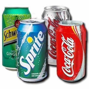 Coca Cola 330ml , Spirit 330ml , Fanta 330ml Cold Drink Can