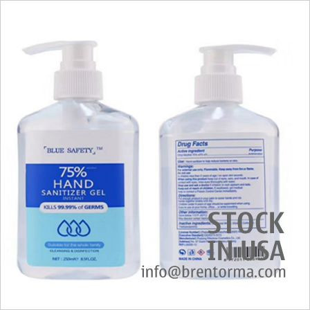 Bottled Hand Sanitizer Gel In Stock USA