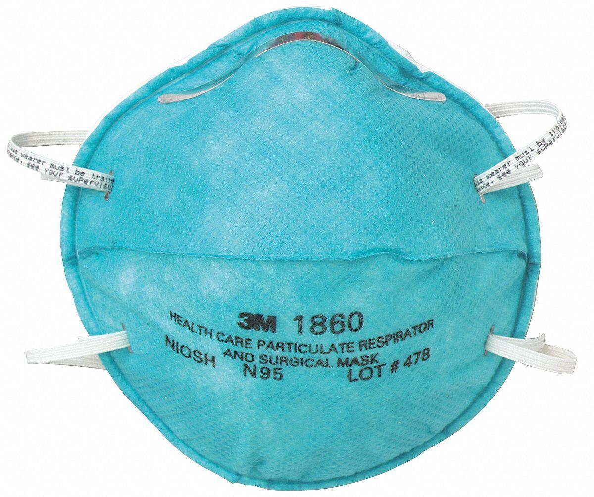 3M respirator masks and gloves