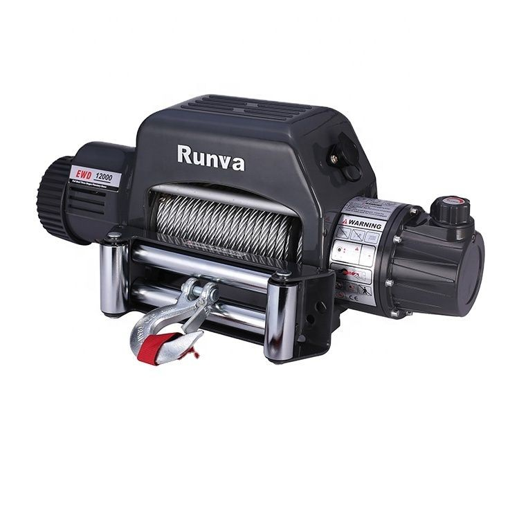 China Electric Winch Manufacturer Runva 4x4 12v for Jeep, Truck & Suv