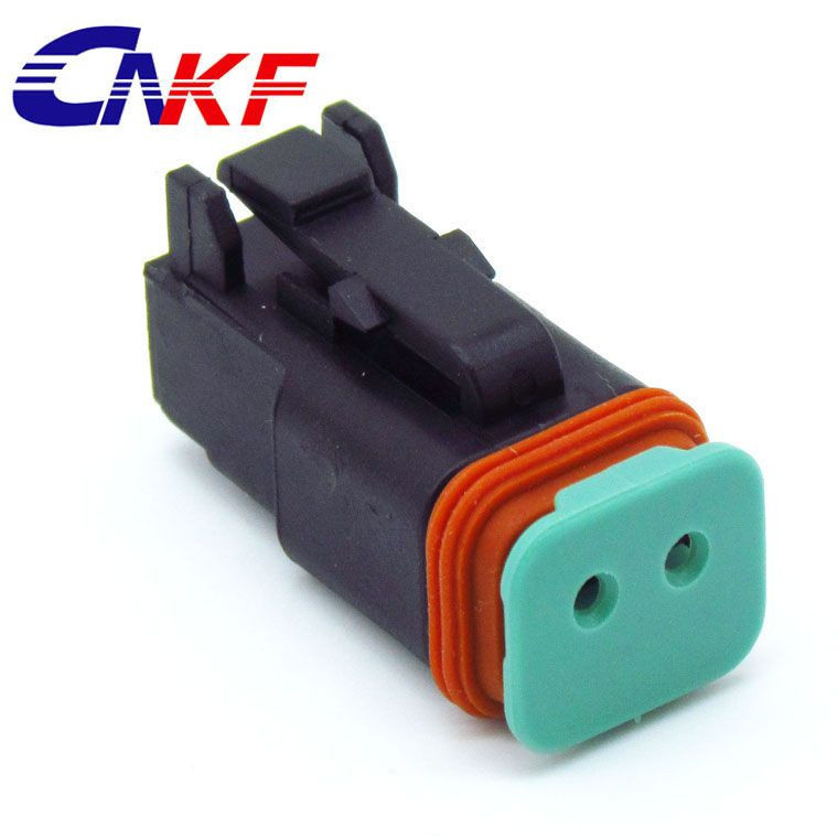 Deutsch DT series 2 way male female waterproof automotive wire connector DT04-2P/DT06-2S