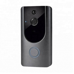 1080P New smart wifi video ring doorbell pro with intercom and wireless cloud storage