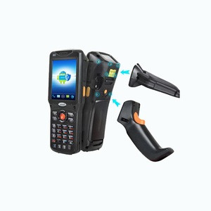 2018 Hot Selling urovo V5100 IP65 rugged Android win ce OS handheld scanner PDA With pistol grip