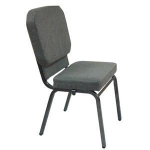 china used cheap back pocket upholstered church theater chair for sale