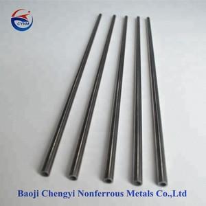 BAOJI factory supplier in electron-tube heater titanium pipe seamless tube