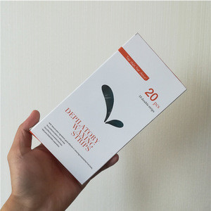 Beauty Ready-to-use depilatory hair removal wax strips