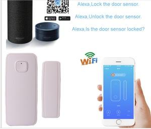 Best selling newest tuya wireless smart home kit house alarm sensors door magnetic alarm door sensor