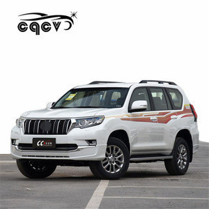 Body kit for Toyota Prado() auto parts front spoiler rear diffuser lights and exhaust tips facelift car accessories