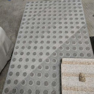 Building Stone Grey Granite Tactile Blind Paving Stone for Garden and Walkway