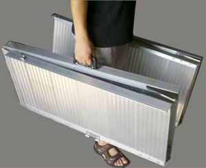Car trailer ramps aluminum