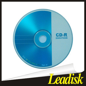 CDR Disk 52X CD Recording Blank Printable CDR