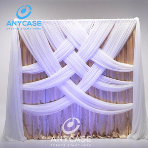 Cheap portable event tent pipe drape for trade show displays