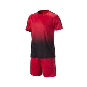 Customized mens football shirt 2018 promotion short-sleeved quick-drying